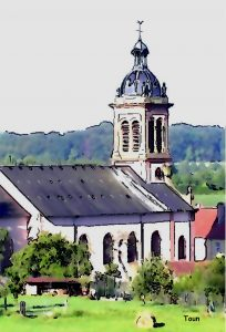 église de Waldwisse