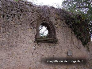 Chapelle Hentingenhaf Waldwisse