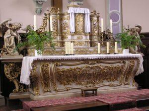 maître autel église Waldwisse