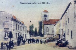 Carte postale envoyée depuis Launstroff le 06 décembre 1919
