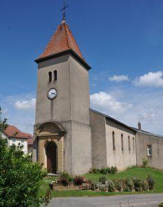 Haute-Sierck Chapelle Saint-Nicolas : paroisse de Kerling