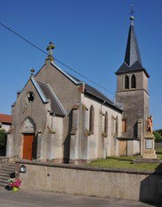 Zeurange Chapelle Saint Gall : paroisse de Flastroff